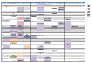 year timetable